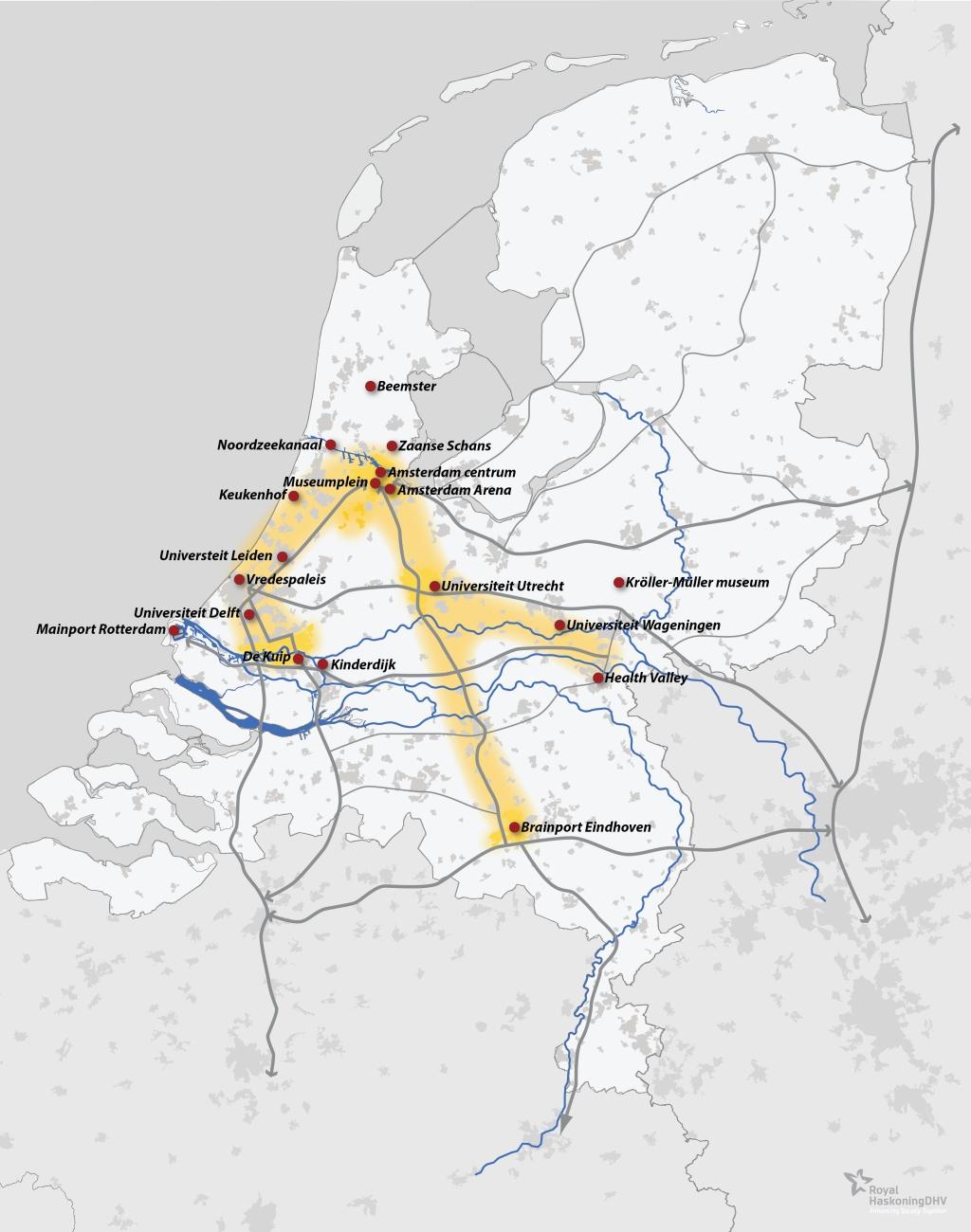 Schiphol airport corridor hans e b chi - Corridor ontwikkeling ...